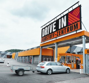 HORNBACH Drive In & Baustoffabhollager
