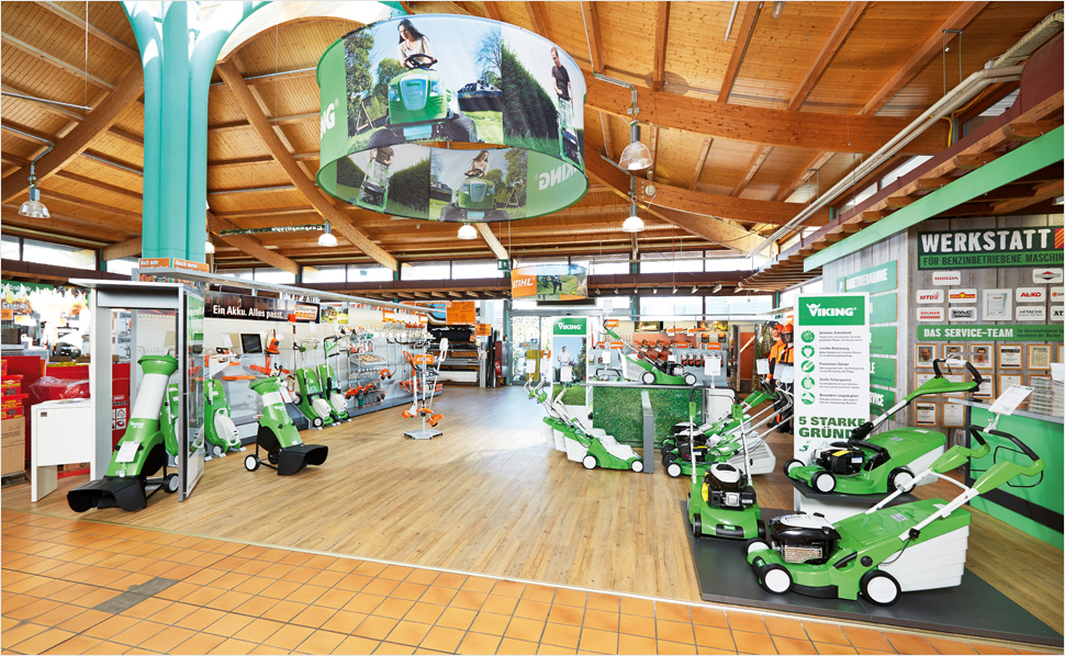 fachhandelshop stihl viking bei hornbach. Black Bedroom Furniture Sets. Home Design Ideas