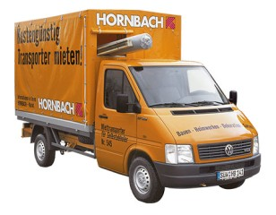 anh nger und transporterverleih mit hornbach. Black Bedroom Furniture Sets. Home Design Ideas