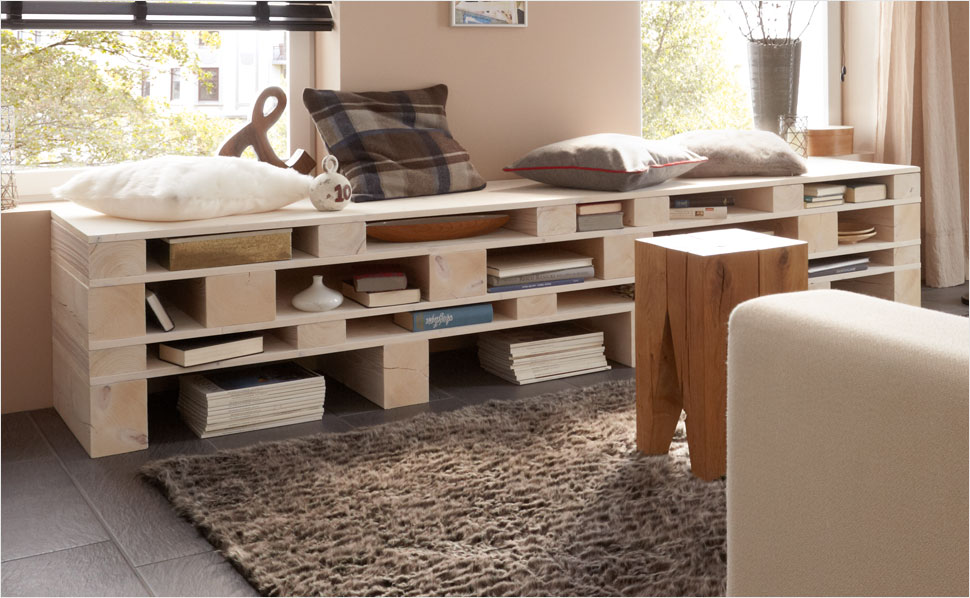 lowboard selber bauen anleitung von hornbach. Black Bedroom Furniture Sets. Home Design Ideas