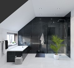 komplettbad mit wanne und dusche bei hornbach. Black Bedroom Furniture Sets. Home Design Ideas