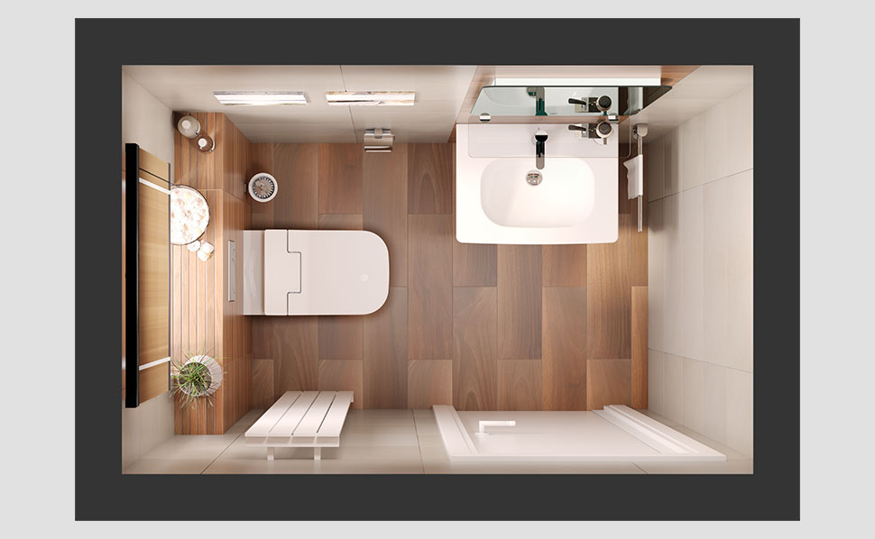 g ste wc renovieren dusche ebenerdig ohne t r. Black Bedroom Furniture Sets. Home Design Ideas