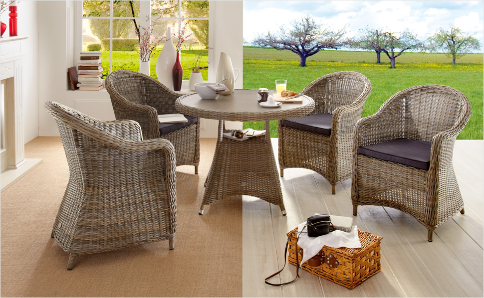 Rattan Gartenmobel Set ~ Rattan lounge gartenmbel simple affordable rattan sofa gunstig