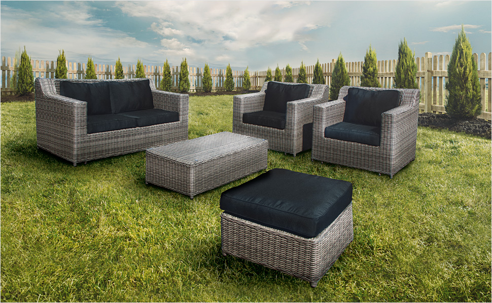 polyrattan gartenmobel bei otto. Black Bedroom Furniture Sets. Home Design Ideas