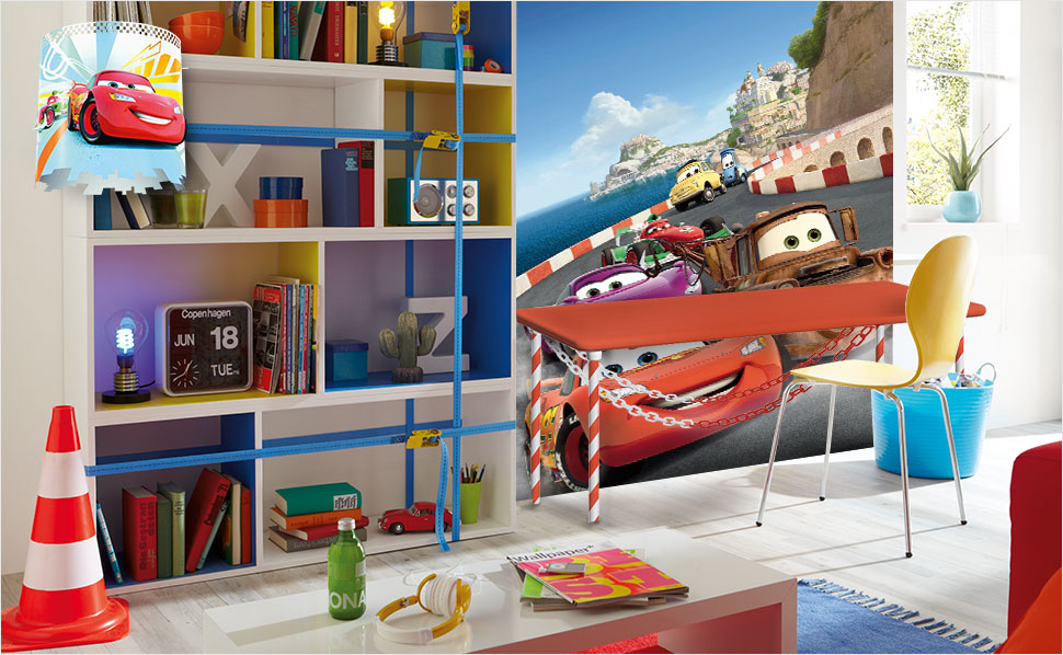 cars kinderzimmer bei hornbach. Black Bedroom Furniture Sets. Home Design Ideas