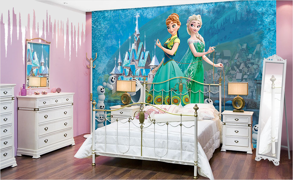 kinderzimmer gestalten eiskonigin ideen. Black Bedroom Furniture Sets. Home Design Ideas