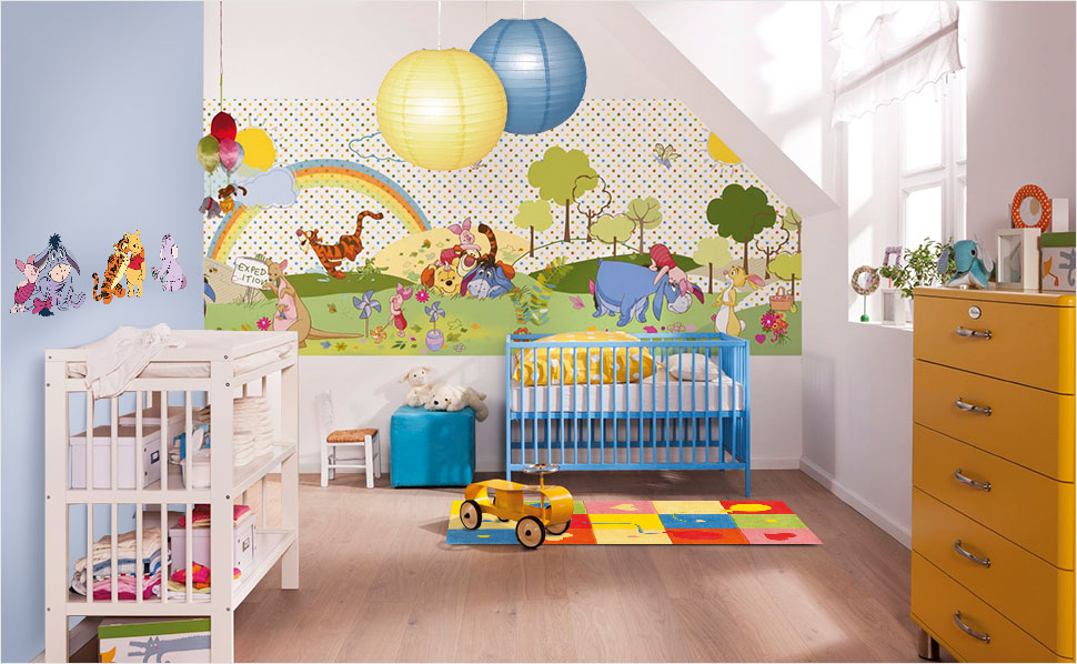 winnie pooh kinderzimmer bei hornbach. Black Bedroom Furniture Sets. Home Design Ideas