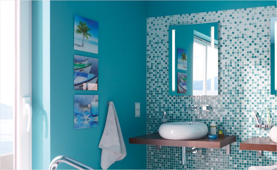 bilder f rs bad bei hornbach. Black Bedroom Furniture Sets. Home Design Ideas
