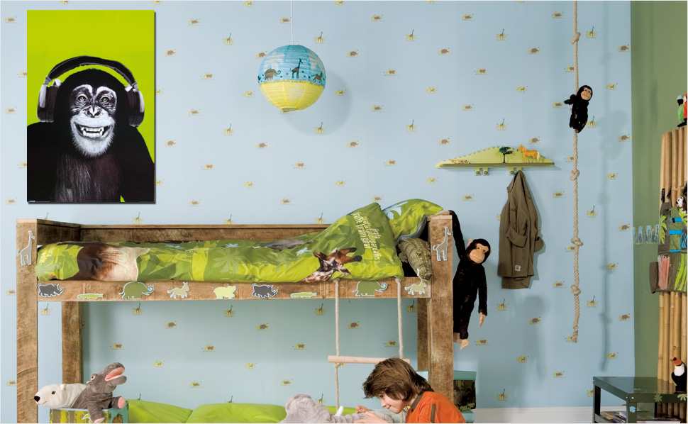 bilder f rs kinderzimmer bei hornbach. Black Bedroom Furniture Sets. Home Design Ideas