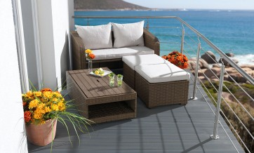 gartenm bel set f r kleinen balkon my blog. Black Bedroom Furniture Sets. Home Design Ideas
