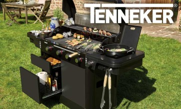 3in1 Holzkohlegrill Grill BBQ Holzkohle Feuerschale Standgrill Gartengrill