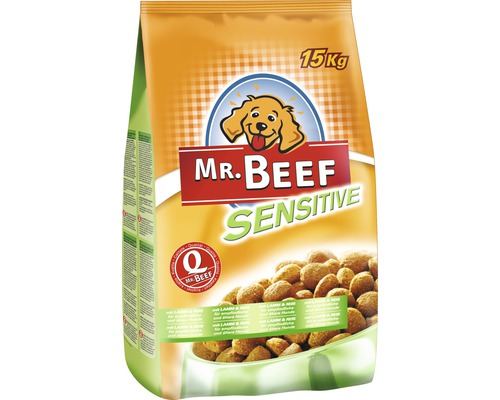 hundefutter trocken mr beef sensitive 15 kg bei hornbach kaufen. Black Bedroom Furniture Sets. Home Design Ideas