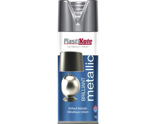 Metallic Spray PlastiKote Brilliant silber 400 ml