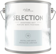 Premium Wandfarbe StyleColor SELECTION Farbton 10 Kristall der Arktis 2,5 l