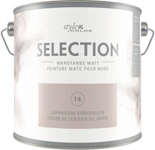Premium Wandfarbe StyleColor SELECTION Farbton 14 Japanische Kirschblüte 2,5 l