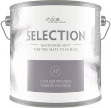 Premium Wandfarbe StyleColor SELECTION Farbton 17 Blüte der Provence 2,5 l