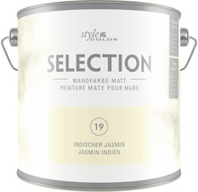 Premium Wandfarbe StyleColor SELECTION Farbton 19 Indischer Jasmin 2,5 l