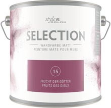 Premium Wandfarbe StyleColor SELECTION Farbton 15 Frucht der Götter 2,5 l