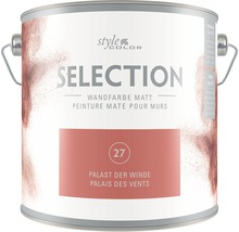 Premium Wandfarbe StyleColor SELECTION Farbton 27 Palast der Winde 2,5 l
