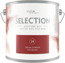 Premium Wandfarbe StyleColor SELECTION Farbton 29 Indian Summer 2,5 l
