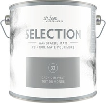 Premium Wandfarbe StyleColor SELECTION Farbton 33 Dach der Welt 2,5 l