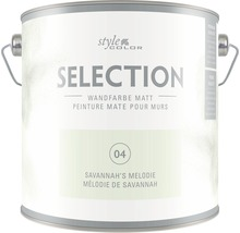 Premium Wandfarbe StyleColor SELECTION Farbton 04 Savannah's Melodie 2,5 l