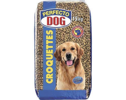 hundefutter trocken perfecto dog croquettes 15 kg bei hornbach kaufen. Black Bedroom Furniture Sets. Home Design Ideas