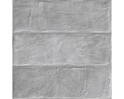 Feinsteinzeug Wandfliese Brick grey 33,15 x 33,15 cm