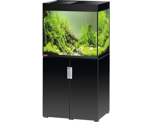 aquariumkombination eheim incpiria 200 mit led beleuchtung und unterschrank schwarz bei hornbach. Black Bedroom Furniture Sets. Home Design Ideas
