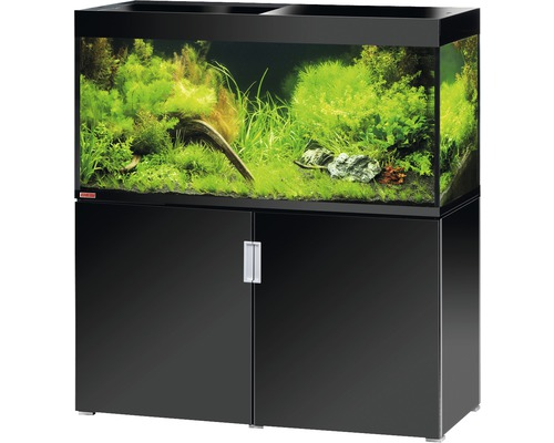 aquariumkombination eheim incpiria 400 mit led beleuchtung und unterschrank schwarz bei hornbach. Black Bedroom Furniture Sets. Home Design Ideas