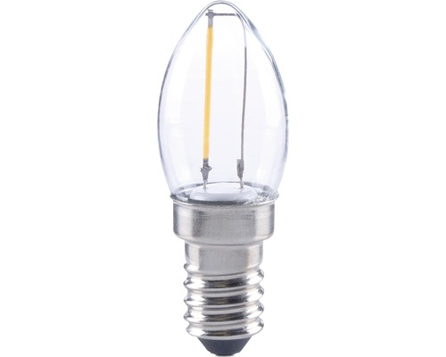 Flair led lampe e w filament c klar lm k warmweiß