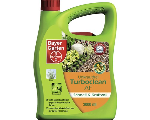 unkrautfrei turboclean af bayer 3 l bei hornbach kaufen. Black Bedroom Furniture Sets. Home Design Ideas