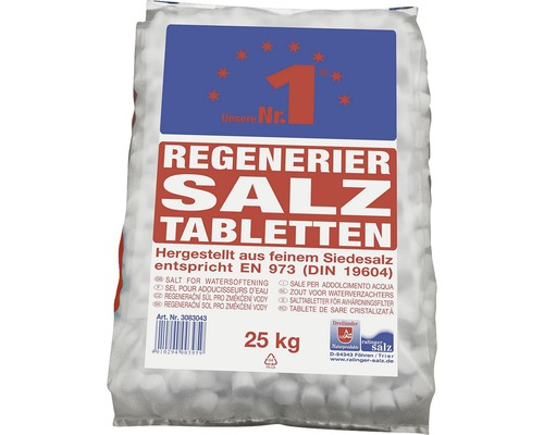 regeneriersalztabletten f r wasserenth rtung 25 kg bei hornbach kaufen. Black Bedroom Furniture Sets. Home Design Ideas