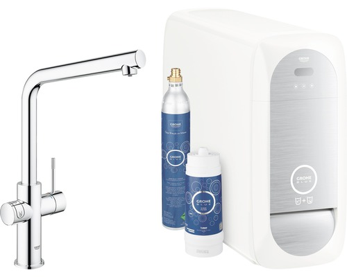 grohe blue home starter kit l auslauf chrom 31454000 bei. Black Bedroom Furniture Sets. Home Design Ideas