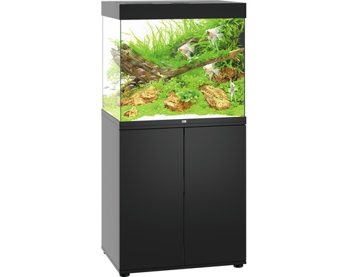 aquariumkombination juwel lido 200 sbx mit led beleuchtung heizer filter und unterschrank. Black Bedroom Furniture Sets. Home Design Ideas