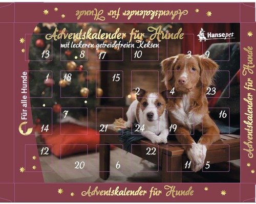 adventskalender hansepet f r hunde 175 g bei hornbach kaufen. Black Bedroom Furniture Sets. Home Design Ideas