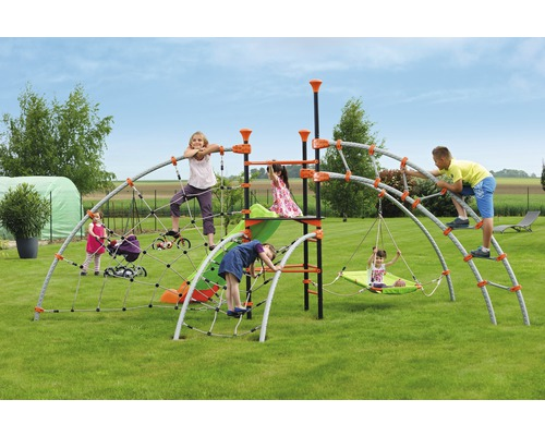 Klettergerüst Metall Garten : Tp toys p explorer metall klettergerüst set mit jungle run