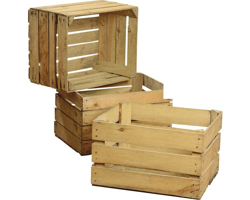 vintage obstkiste natur 50x40x30 cm bei hornbach kaufen. Black Bedroom Furniture Sets. Home Design Ideas