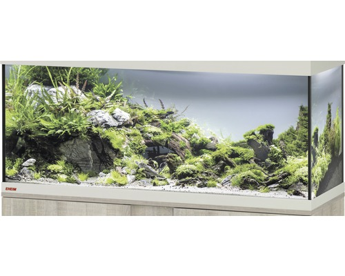 aquarium eheim vivaline 123 ohne beleuchtung 121x41x54 cm eiche grau bei hornbach kaufen. Black Bedroom Furniture Sets. Home Design Ideas