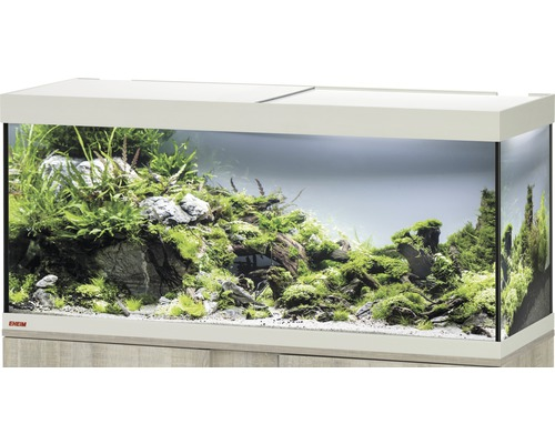 aquarium eheim vivaline 240 mit led beleuchtung heizer filter ohne unterschrank eiche bei. Black Bedroom Furniture Sets. Home Design Ideas