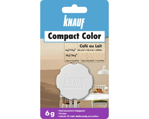 knauf compact color caf au lait 6 g bei hornbach kaufen. Black Bedroom Furniture Sets. Home Design Ideas