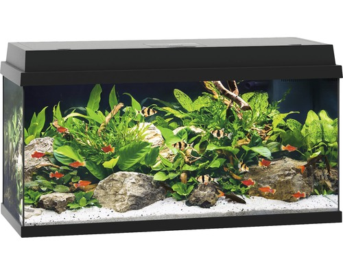 aquarium juwel primo 110 mit led beleuchtung heizer filter ohne unterschrank schwarz bei. Black Bedroom Furniture Sets. Home Design Ideas