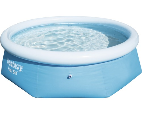 Bestway Fast-Set-Pool Rundbecken Ø 244 cm, Höhe 66 cm