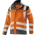 Warnjacke orange/anthrazit Gr. 98