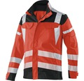 Warnjacke rot/anthrazit Gr. 114