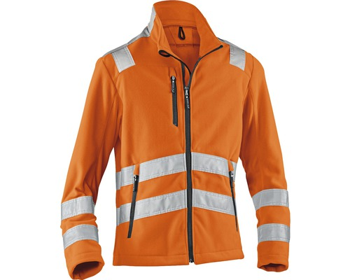 Fleecejacke neonorange Gr. XL
