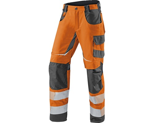 Bundhose Sommer orange/anthrazit Gr. 44