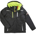 TX Workwear Winterparka Gr. XL schwarz/lime