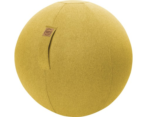 Sitting Ball Felt senf Ø 65 cm