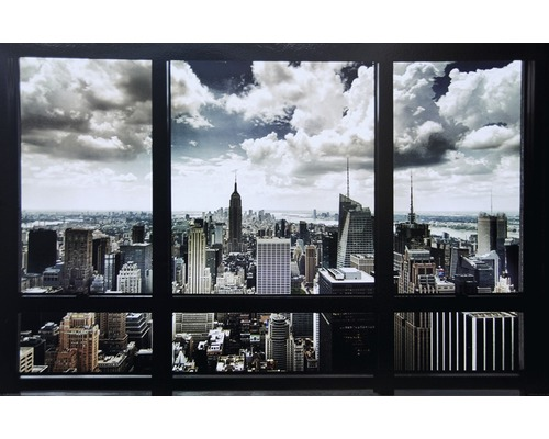 deko panel new york window 61x91 cm bei hornbach kaufen. Black Bedroom Furniture Sets. Home Design Ideas